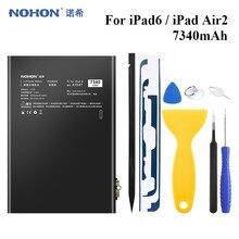 Nohon Tablet Batterij Voor Ipad 6 Batterij Ipad Air 2 Bateria Vervanging Lithium Polymeer Batarya 7340Mah Voor Apple Ipad air2 IPad6