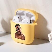 Yo Perreo Sola Bad Bunny APARTAMENTO PARA LOS Airpods 2 cubierta de lujo de silicona Funda para AirPod auriculares accesorios inalámbricos