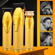 Beard Trimmer Hair-Clipper T-Blade Men Barber Professional