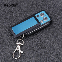 kebidu 433Mhz Remote Control Code For Gate Wireless RF 4 Channel Electric Cloning For Gate Garage Door Car Keychain