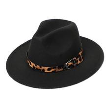 Women Fedora Hats Winter Imitation Wool Top Hat 2020 Classic Fashion Autumn Felt Hat Women cheap Unisex COTTON Polyester Adult LM-004 Fedoras Casual Solid