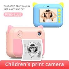 Камера Мгновенной Печати детская камера цифровая игрушка термопринтер