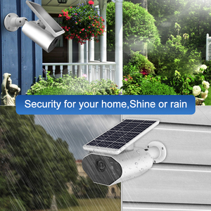 Image 5 - Keeper 1080P IP65 Waterproof Outdoor Solar Powered Security Camera Low Power Rechargeable Battery Wire Free Solar WiFi Cameras