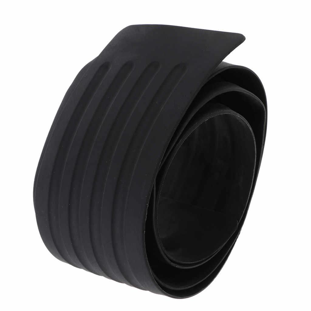35 inch Universal Black Durable Rubber Rear Guard Bumper Protector Trim Cover for Car Pickup SUV Truck