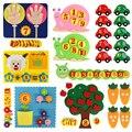 Lehren Kinder Diy Weben Frühen Bildung Kinder Spielzeug Montessori Lehrmittel Zu Lernen Hände-auf Mathematik Spielzeug Liefert