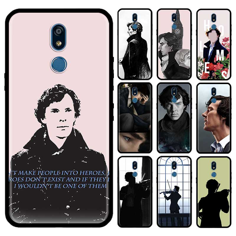 221B Sherlock Benedict Case For LG G6 G7 G8 Thinq K40 K40s Q51 Q60 Q61 Q70 K41s K50s K51s K61 Tpu Phone Carcasa Capas