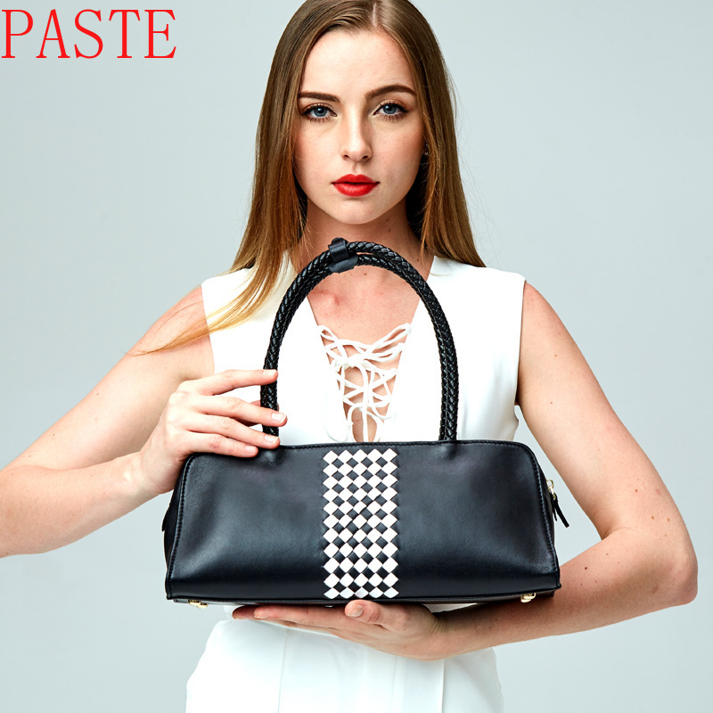 New 2017 Women Leather Shoulder Bag Shell Bags Casual Handbags Small Messenger Bag Free Shipping