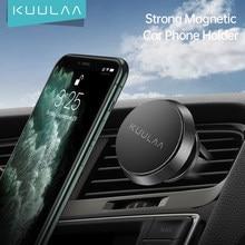 KUULAA-soporte magnético para teléfono móvil, soporte Universal para teléfono móvil, rejilla de ventilación de coche