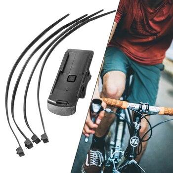 Soporte de montaje práctico para bicicleta Garmin Dakota, soporte de goma TPU...