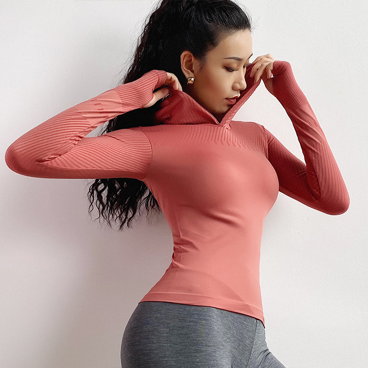 camisa de fitness manga longa camisas yoga