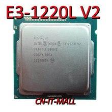 Intel Xeon E3 1220L V2 CPU 2.3GHz 3M 2 Core 4 Threads LGA1155 Processor