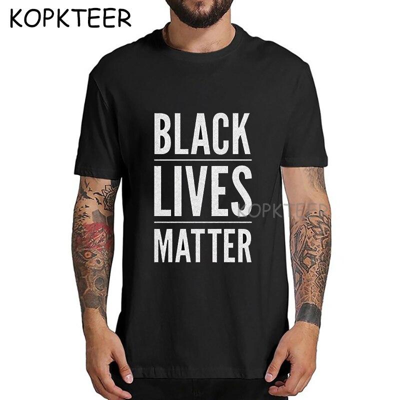 New Arrival Black Lives Matter t-shirts Men Harajuku Funny Print Tshirt Men Hip Hop I cant breathe Streetwear Homme Tops tees