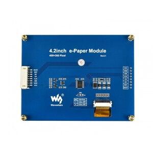 Image 4 - Waveshare 4.2 전자 종이, 400x300,4.2 인치 전자 잉크 디스플레이 모듈, 디스플레이 색상: 검정, 흰색. 백라이트 없음, 광각, SPI interace,