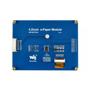 Image 4 - Waveshare 4.2 E กระดาษ,400X300,4.2 นิ้วE Ink Displayโมดูลจอแสดงผลสี: สีดำ,สีขาวไม่มีBacklight,มุมกว้าง,SPI Interace,