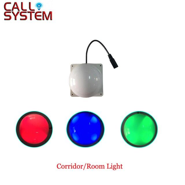 الرقمية اللاسلكية ممرضة مكالمة ضوء نظام استقبال غرفة/الممر الخفيفة المستخدمة للمستشفى/دار التمريض/عيادة