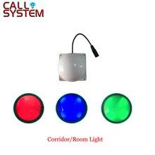 Dijital kablosuz hemşire çağrı ışık alıcı sistemi odası/koridor ışık hastane için kullanılan/hemşirelik ev/klinik