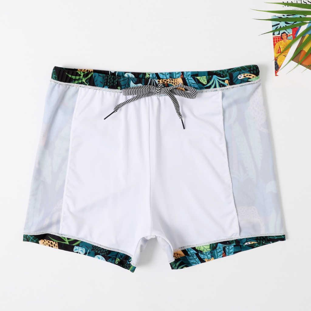 2020 nuevo traje de baño para bebés, bañadores para nadar, pantalones cortos de playa para papá y yo, ropa de playa familiar, bañadores de surf, pantalones cortos
