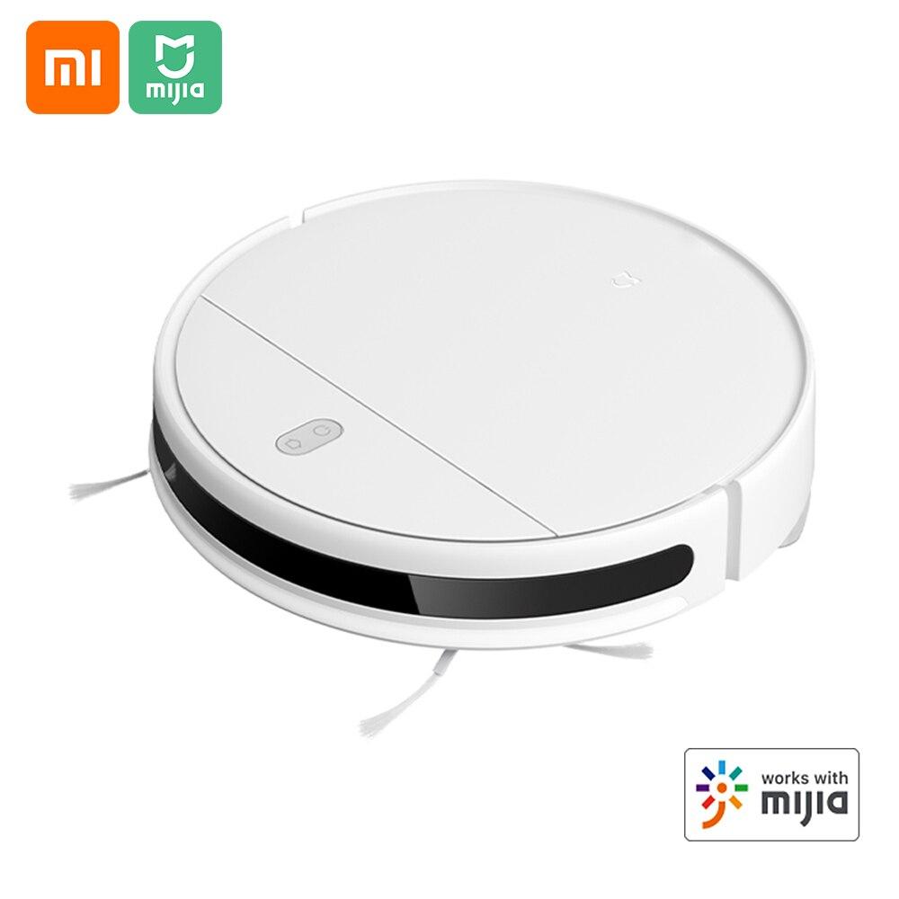 Xiaomi mijia g1 robô aspirador de pó 2200pa sucção casa vassoura mopper chão aspirador de pó controle app 2500mah 100-240v