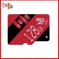 AEGO 32GB 64GB 128GB Micro SD 8GB 16GB Class 10 UHS-U1 Flash TF Speicher Karte für Telefon Kamera Tachographen (+ Freies SD Adapter)
