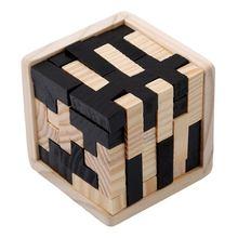 Puzzles éducatifs en bois pour adultes enfants casse-tête 3D russie Kong Ming Luban développement enfants jouet enfants cadeau bébé bois jouet