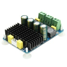 ABKT-Tda7498 2 Channel 2X100W Dc 8~32V Digital Stereo Power Amplifier Board(China)