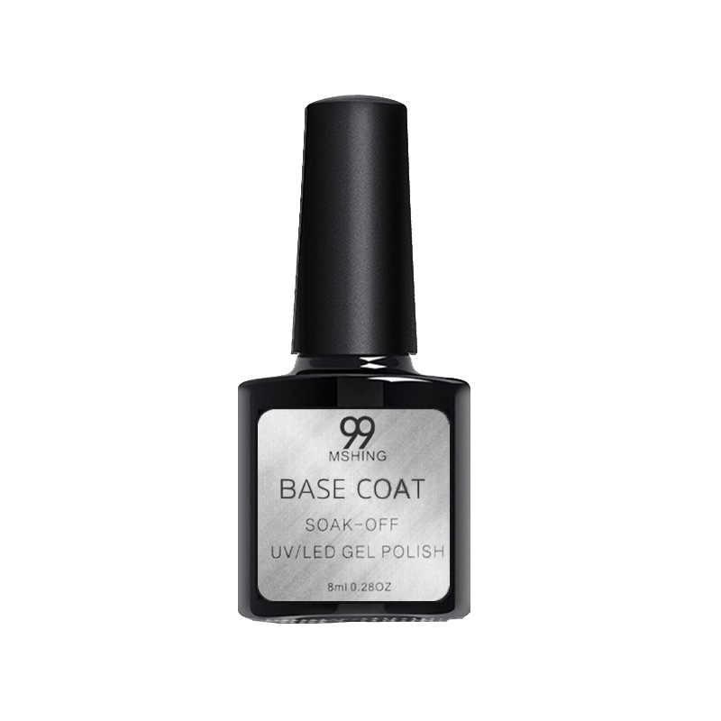 8ml UV Gel vernis à ongles couche de finition 2 pièces Base et couche de finition vernis ongle Gel apprêt longue durée tremper hors UV Gel Nail Art manucure