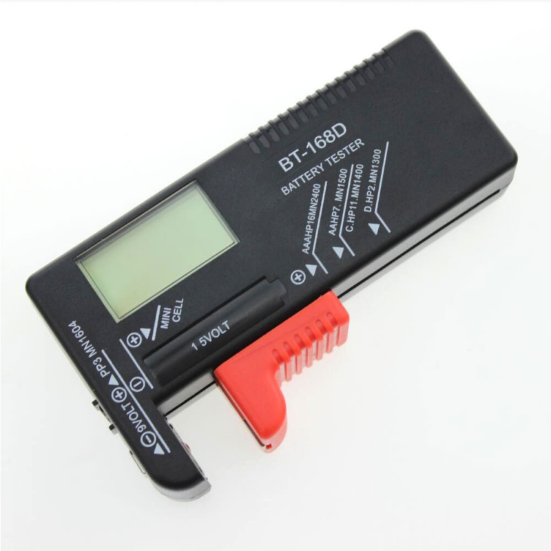 Digital Battery Capacity Tester Smart Electronic Power Indicator Measure For 1.5V and 9V AA AAA Cell C D Batteries