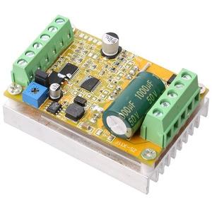 Image 4 - Placa de controlador sem escova quente do motor de wsfs 380w 3 fases (não/sem sensor hall) placa de motorista do plc de bldc pwm dc 6.5 50v
