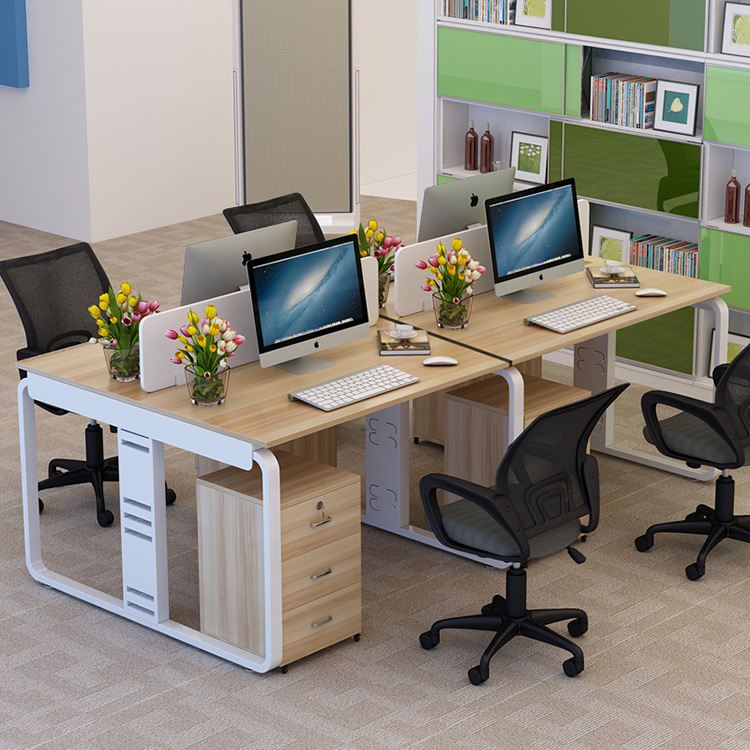 Manufacturers Direct Selling Working Card Bit Office Tables And Chairs Combination Employee Computer Table A Complete Range Of S