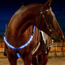 Riding-Equipment Horse-Harness Cheval Breastplate Night-Visible-Horse Racing Equitation