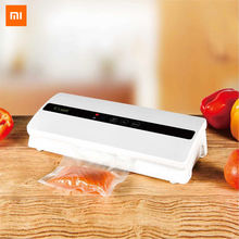 Xiaomi Youpin Xianli Vacuum Preservator Household Kitchen Refrigerator Storage Food Bag Sealing and Vacuum Sealing Machine(China)