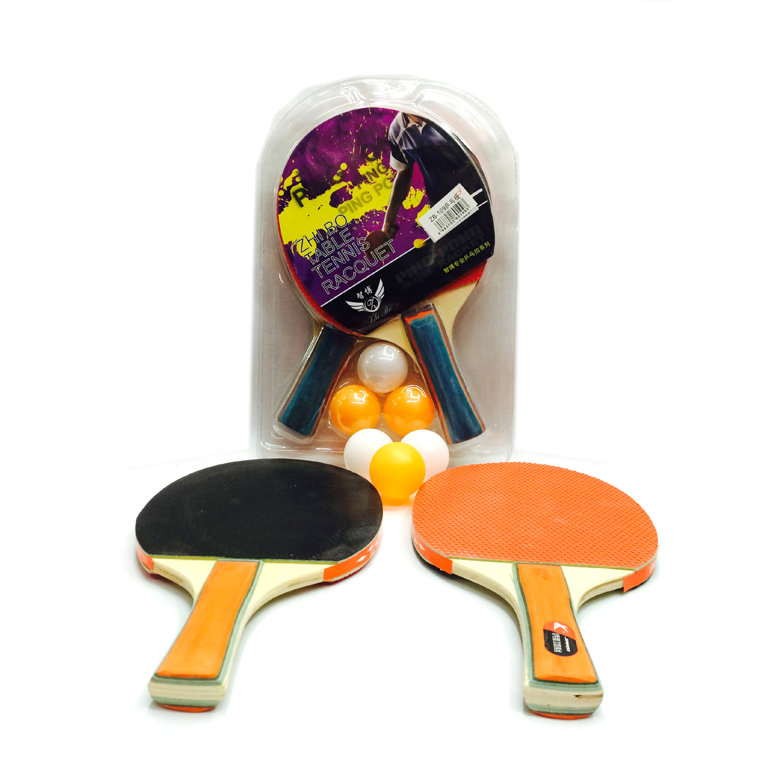 Tomohiro 8 Thick Table Tennis Racket Pimples Out/in Table Tennis Racket Of Beat 2 Send 3 Ball Table Tennis Suit Wholesale