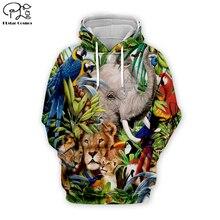 Men Funny Tiger/Dumbo Elephant/parrot leaf printing 3D Hoodies women unisex Sweatshirt/zipper pullover tracksuit tshirt short