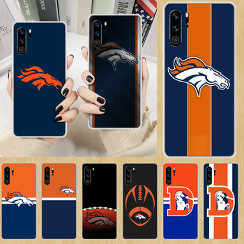Denver Bronco American Football Phone Case hull For HUAWEI p 8 9 10 20 30 40 smart Lite 2017 19 Pro Z transparent waterproof image