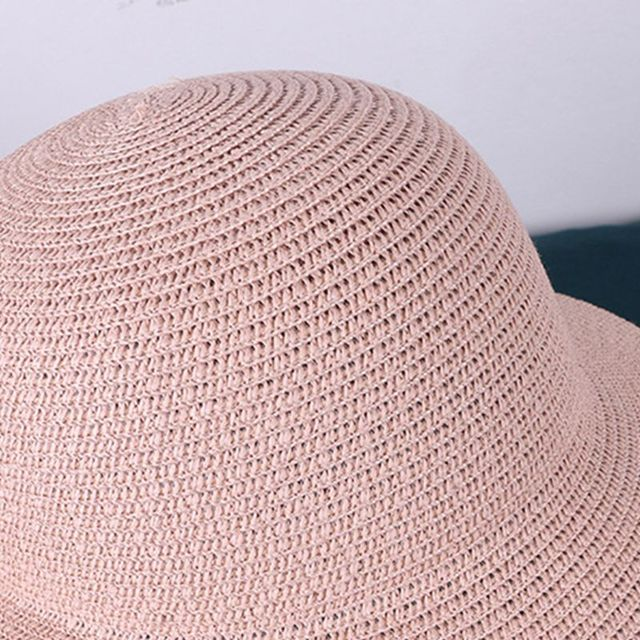 Women Beach Straw Sun Hat with Anti-Spitting Splash Protective Face Shield Anti-Fog Saliva Dustproof Mask Fisherman Cap 4