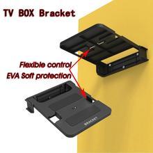 100-138 мм Android tv Box Монтажный кронштейн комплект верхней стойки держатель стойки настенные крепления хранения одно место полка для цифрового DVD