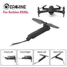 EACHINE — Pièces de rechange pour Drone E520S, avec hélice moteur, pièces de remplacement de cadre de Drone FPV Racing, bras d'axe, RC Quadcopter