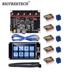 Bigtreetech skr v1.3 smoothieboard placa 32 bit + bltouch tmc2208 tmc2130 tft35 v2.0 tela sensível ao toque vs mks gen l peças de impressora 3d