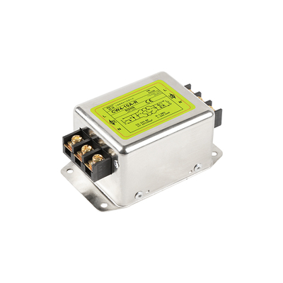 CW4-10A-R 20A 30A AC 115V 230V Strong Anti-interference EMI Purification Terminal Block Type Power Supply Filter