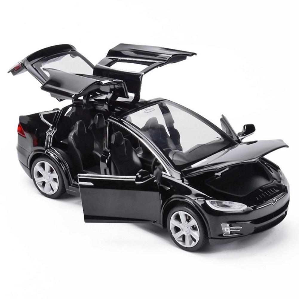 Бесплатная доставка New1:32 Tesla модель X MODEL3 брелок для автомобильных ключей, модель игрушечные машинки Игрушечные Машинки Игрушки для детей, и...