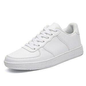 Image 5 - Venda quente branco tênis masculinos 2020 luz sapatos casuais para homem respirável preto sapatos masculinos tamanho grande tenis masculino zapatos hombre