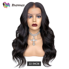 Body Wave Wig Lace Front Human Hair Wig For Women 13*4 lace wig Pre Plucked Malaysia Baby Hair natural color Non Remy 8-26 #8221 cheap Brennas Non-Remy Hair Malaysia Hair Average Size Medium Brown Darker Color Only Swiss Lace Body wave lace wig Natural Black Color