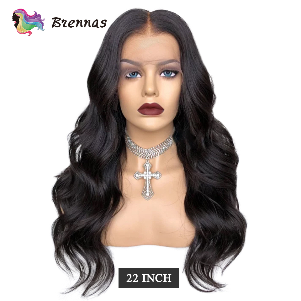 Body Wave Wig Lace Front Human Hair Wig For Women 13*4 Lace Wig Pre Plucked Malaysia Baby Hair Natural Color Non Remy 8-26''