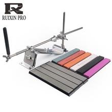 Ruixin pro, affûteuse de couteaux professionnel en acier, affûteuse, accessoires de cuisine, dispositif daffûtage, barre diamant