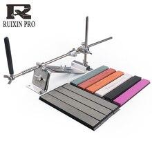 Ruixin pro afilador de cuchillos profesional de acero herramienta de afilado, accesorios de cocina, barra de diamante