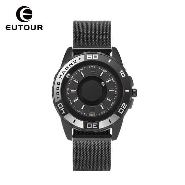 Дизайнерские мужские кварцевые часы EUTOUR