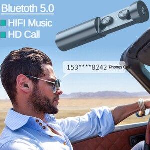 Image 5 - B9 TWS אלחוטי אוזניות אוזניות 8D HIFI Bluetooth 5.0 ספורט מיקרופון אוזניות LED תצוגת משחקי מוסיקה אוזניות עבור טלפונים