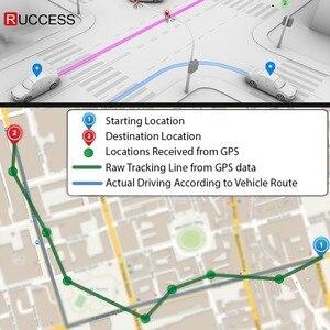 """Image 4 - Ruccess 5.0 """"rejestratory samochodowe 3 w 1 lusterko wsteczne rejestrator policja wykrywacz radarów z GPS FHD 1080p Dashcam podwójny obiektyw do telefonu kamera DVR"""