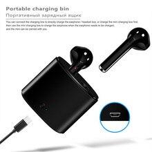 Bluetooth 5.0 i7s tws esporte fones de ouvido sem fio fone com microfone para o telefone inteligente xiaomi samsung huawei lg