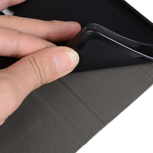 Image 3 - עור מפוצל ארנק מקרה עבור Xiaomi Redmi הערה 10s עסקים טלפון מקרה עבור Xiaomi Redmi הערה 10 4g מקרה רך סיליקון כיסוי אחורי